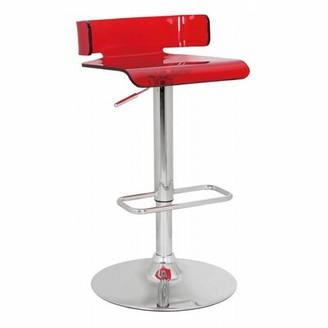 Orren Ellis Nojus Adjustable Height Swivel Bar Stool