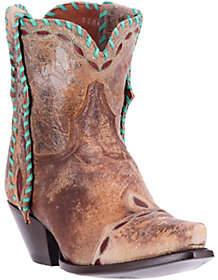 Dan Post Short Cowboy Boots - Livie