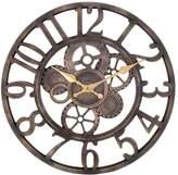 Open Gears Wall Clock