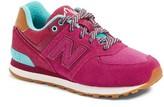New Balance Girl's 574-Ne Sneaker