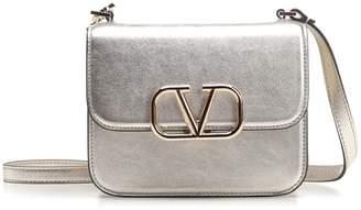 Valentino VSLING Fold Over Chain Strap Shoulder Bag