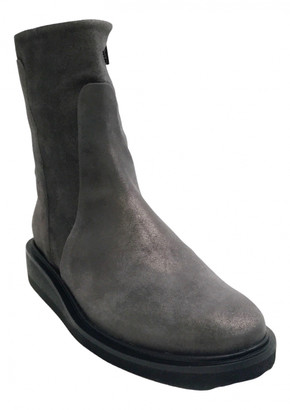Coclico Grey Leather Boots