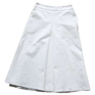 Twin-Set Twin Set White Cotton - elasthane Skirt for Women