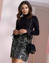 Lipsy Jaquard Mini Skirt