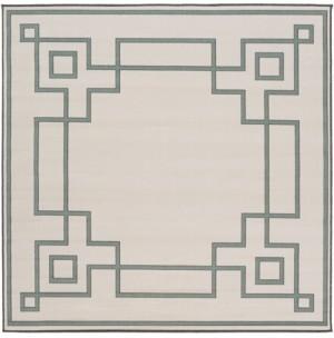 """Surya Alfresco Alf-9629 Sage 8'9"""" Square Area Rug, Indoor/Outdoor"""