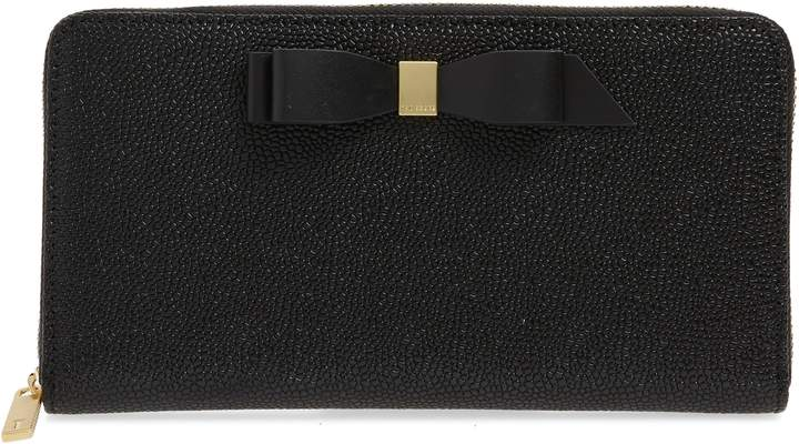 4c7c37bdf Ted Baker Leather Matinee Wallet - ShopStyle