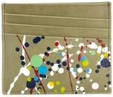 Maison Margiela paint splatter cardholder
