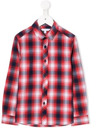 The Marc Jacobs Kids Check Long-Sleeve Shirt