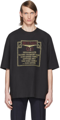 Lemaire Black Can Edition Big Hit T-Shirt