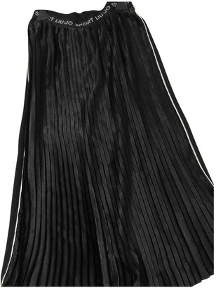 Liu Jo Liu.jo Black Cotton Skirt for Women
