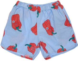 Bobo Choses Pepper Print Organic Cotton Shorts