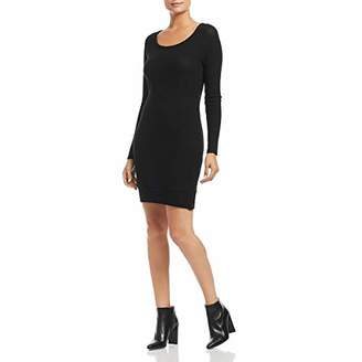 Three Dots Women's QQ5863 Brushed Sweater Fitted Dress