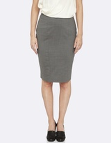 Oxford Monroe Pinstripe Suit Skirt