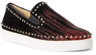 official photos 9a844 9b1c4 Pik Boat Spike Slip-On Sneaker