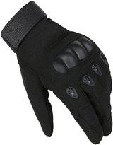 Oshide Mens Tactical Gloves Antiskid Sports Gloves for Wild Ride Bike Motorcycle