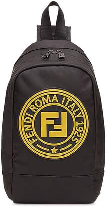 Fendi logo cross-body backpack