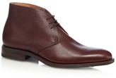 Loake Brown 'aquarius' Grained Leather Boots