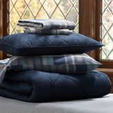 PBteen Solid Comforter Bundle, Navy