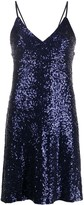 Norma Kamali sequined short dress