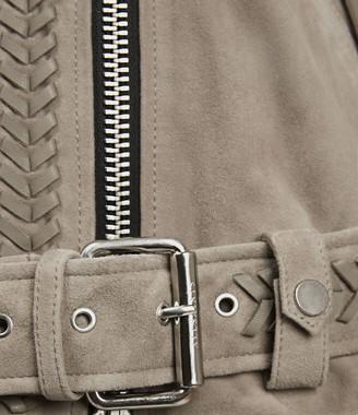 AllSaints Rosen Suede Biker Jacket
