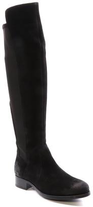 Bos. & Co. Bunt Waterproof Suede Stretch Boot