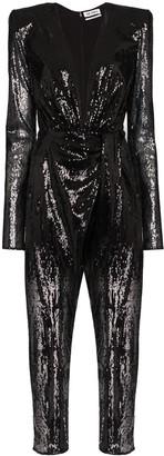ATTICO Sequin-Embellished Jumpsuit