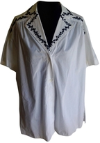 Fendi White Cotton Top