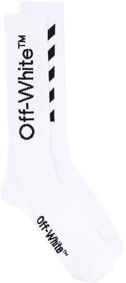 Off-White Diag mid-length socks
