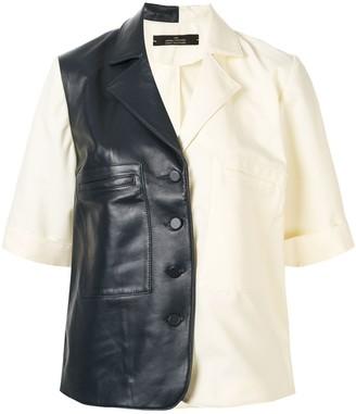Rokh Two-Tone Shirt