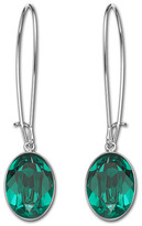 Swarovski Puzzle Emerald Pierced Earrings
