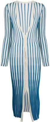 Jacquemus Long Striped Cardigan