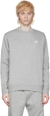 Nike Grey Sportswear Club Sweatshirt