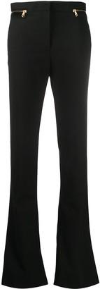 Versace Zip-Trim Bootcut Trousers