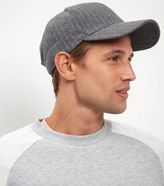 New Look Grey Pinstripe Cap