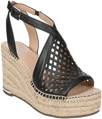 Franco Sarto Espadrille Wedge Sandals - Celestial