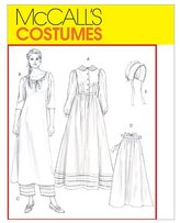 Mccall's Misses' Early American Costume - CCD (10 - 12 - 14 - 16)