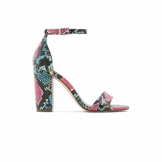 Call it SPRING Women's Tayvia Block Heel Sandal
