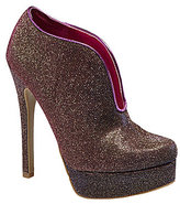 Chinese Laundry Lickety Split Iridescent Glitter Booties