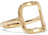 Adina 18-Karat Gold-Plated Ring