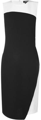 DKNY Sleeveless Colour Block Dress