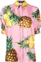 Dolce & Gabbana pineapple print shirt - women - Silk - 46