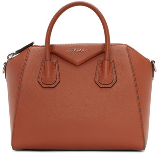 Givenchy Orange Small Antigona Bag