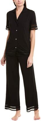 Cosabella Wildflower 2Pc Pajama Pant Set