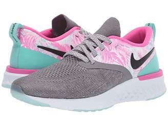 Nike Odyssey React 2 FK (Gunsmoke/Laser Fuchsia/Tropical Twist) Women's Running Shoes