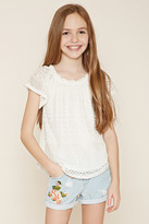 Forever 21 Girls Lace Top (Kids)