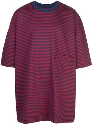 Martine Rose oversized striped T-shirt