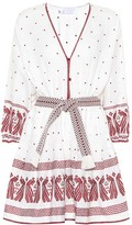 Zimmermann Exclusive to mytheresa.com embroidered linen dress