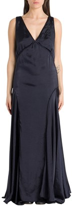 Jil Sander V-Neck Gown