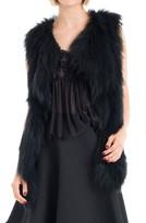 Max Studio Soft Fur Vest With Pockets