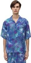 Marni Tie Dyed Jacquard Short Sleeve Shirt